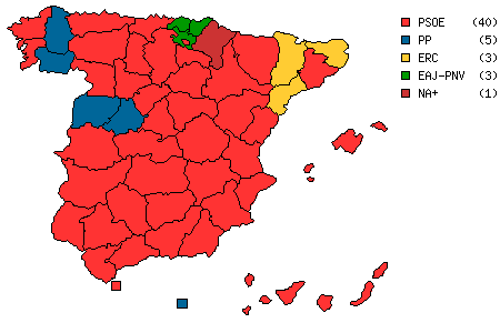 Election Resources on the Internet: Elections to the Spanish